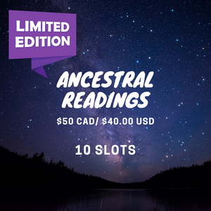 LIMITED: Ancestral Readings: Guidance + Homework