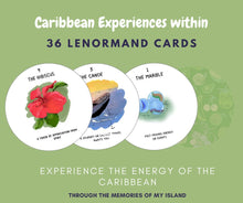 Load image into Gallery viewer, When Life Gives you Mangoes- Caribbean Inspired Lenormand Oracle