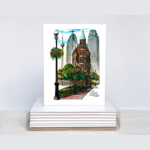 Toronto Note Cards by artist David Crighton