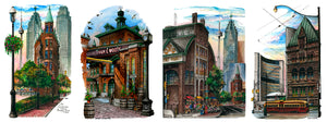 Toronto Landmark Art Prints by David Crighton