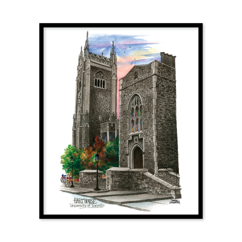 UofT Hart House Canvas Print Wall Art