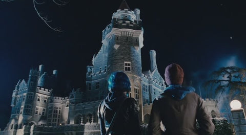 Photo of The stables in Casa Loma from X-men via Torontoist