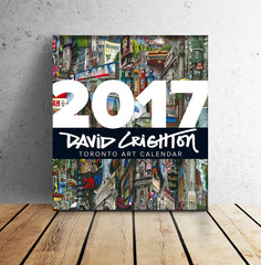 New and Improved 2017 David Crighton Toronto Art Calendar