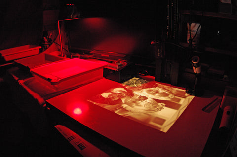 darkroom chemical tray