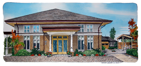Dorothy Ley Hospice, Toronto - Commissioned Art by David Crighton