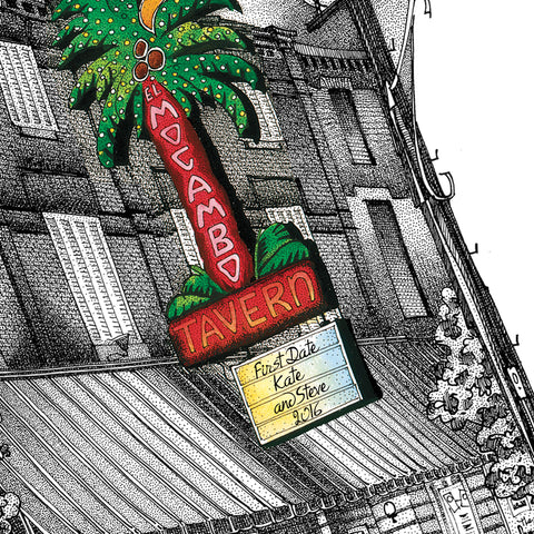 El Mocambo Personalized Artwork
