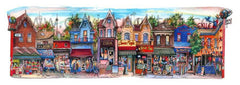 Kensinton Avenue, Toronto by Illustrator David Crighton