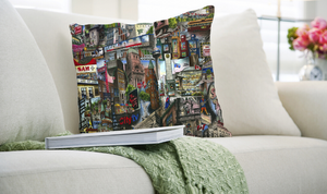 My Toronto Logo Art Throw Pillow