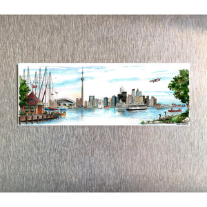 Toronto Skyline Fridge Magnet