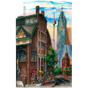 St. Lawrence Market Toronto Fridge Magnet