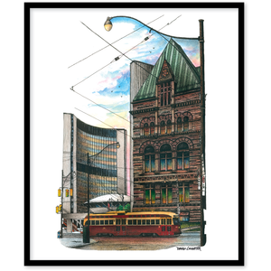 Toronto City Halls Canvas Wall Art