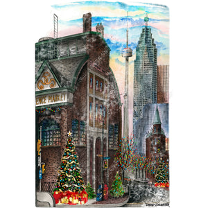 St. Lawrence Market Christmas Toronto Wall Art