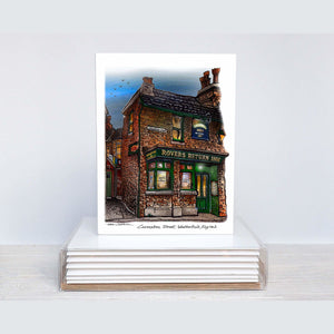 Rovers Return Coronation Street Greeting Card Box Set available  at our stationery store in Toronto