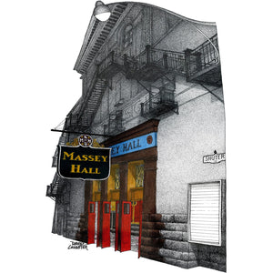 Toronto Landmark Massey Hall makes a great Toornto gift!
