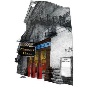 Post Card - Massey Hall Card