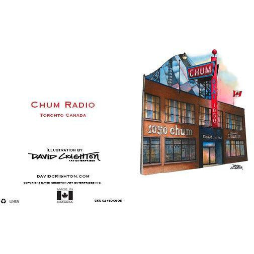 Chum Radio Card by David Crighton