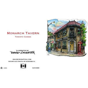 Monarch Tavern Toronto Greeting Card