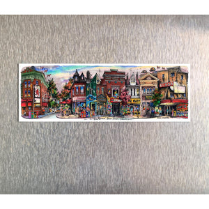 The Annex Toronto Fridge Magnet