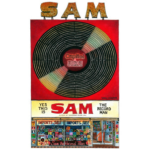 Sam the Record Man Post Card