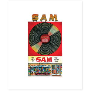 Sam the Record Man Toronto Poster