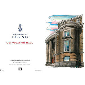 Convocation Hall, UofT Card By David Crighton