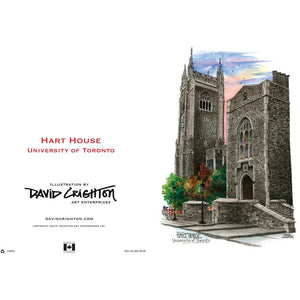 Hart House, UofT  Card by David Crighton