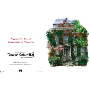 Faculty Club, UofT Card by David Crighton