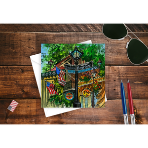 New Orleans, LA USA Greeting Card
