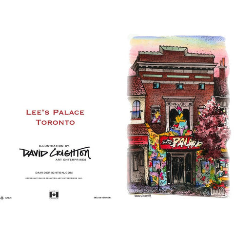 Lee's Palace Card by David Crighton