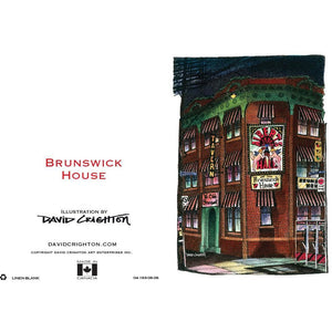 Brunswick House Card by David Crighton