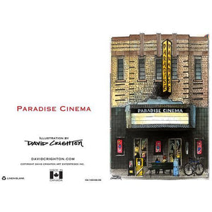 Paradise Cinema Toronto Greeting Card