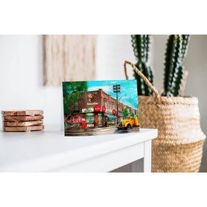 Canada Greeting Card - Joe's Coca Cola Market