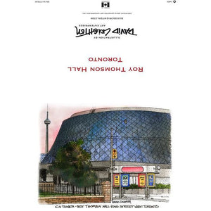 Roy Thomson Hall Toronto Greeting Card