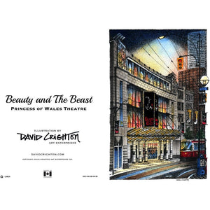 Beauty and the Beast (Wales) Card by David Crighton
