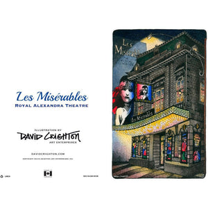Les Miserables Theatre Greeting Card