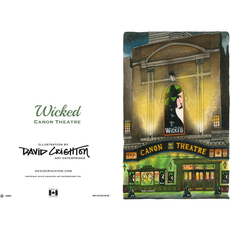 Wicked (Canon) Card by David Crighton