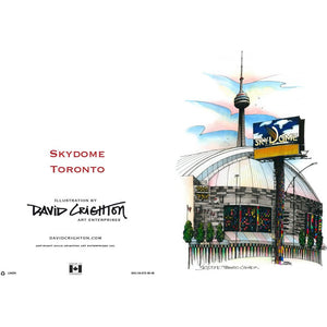 Skydome Toronto Greeting Card