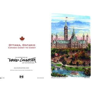 Ottawa, Canada Greeting Card