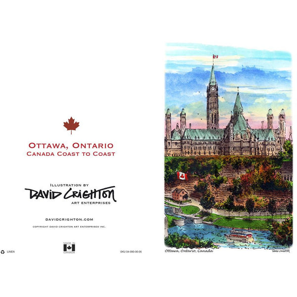 Ottawa (Coast to Coast) Cards by David Crighton
