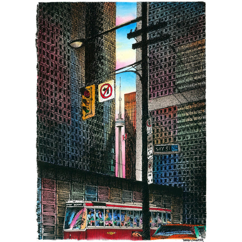Post Card - King Streetcar  by David Crighton