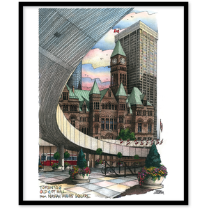 Nathan Phillips Square Canvas Wall Art