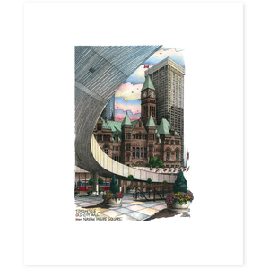 Nathan Phillips Square Toronto Poster