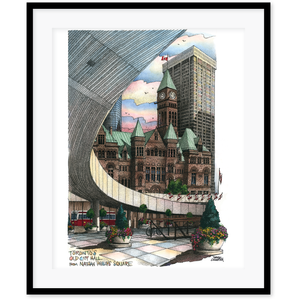 Nathan Phillips Square Toronto Wall Art