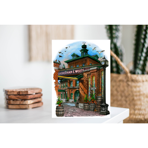 Toronto Greeting Card - Distillery District