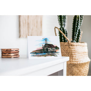 Leuty Lifeguard Station Toronto Greeting Card