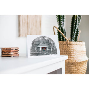 The Gardener's Cottage No. 1 Toronto Greeting Card