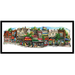 Bloor West Village #5 Toronto Canvas Wall Art