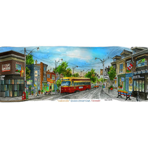 Leslieville, Toronto Post Card