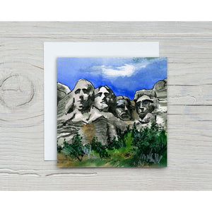 Mt. Rushmore Greeting Card Stationery Store Toronto