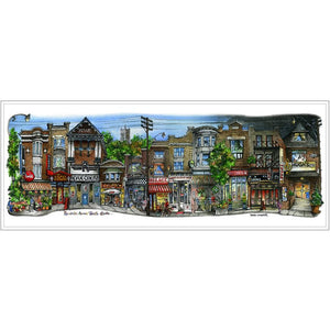 Roncevalles Neighbourhood Toronto Fridge Magnet